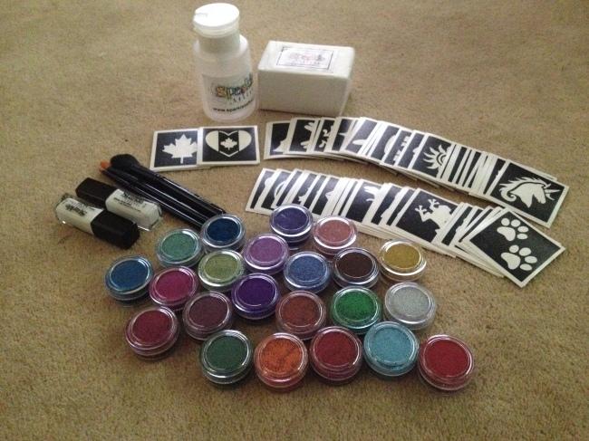 New Glitter Tattoo Kit
